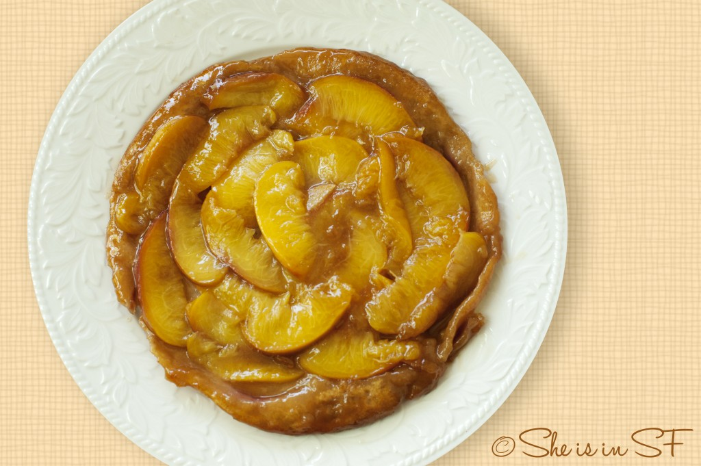 Tarte Tatin with nectarines recipe