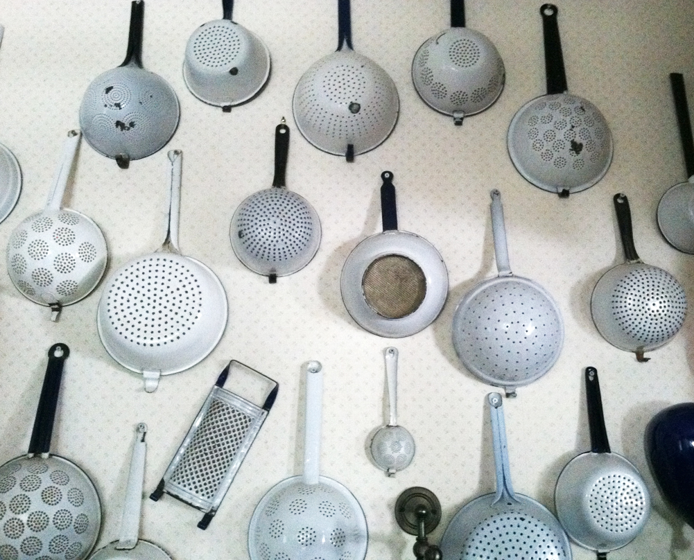 Enamel Colander collection