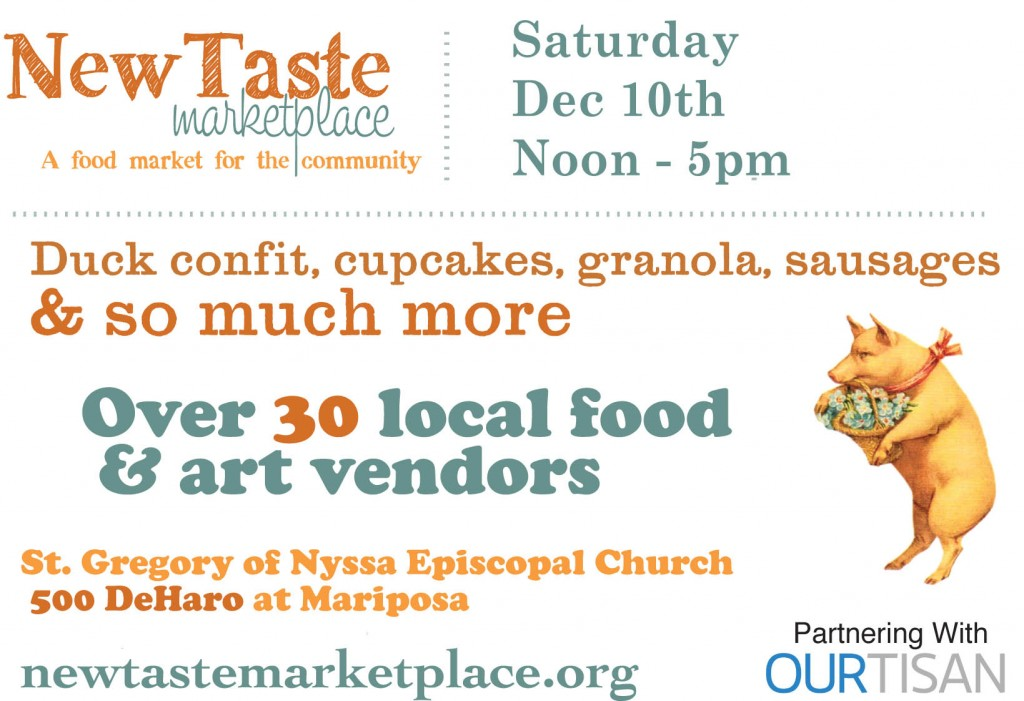 New Taste Marketplace December 2011