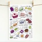 French Parisian Macaroons Kitchen Art Prints