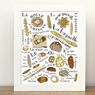 The French Breads Fine Art Print